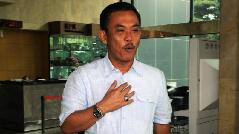 Ketua DPRD DKI Jakarta, Prasetyo Edi Marsudi di Gedung KPK