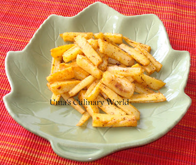 oven roasted parsnips