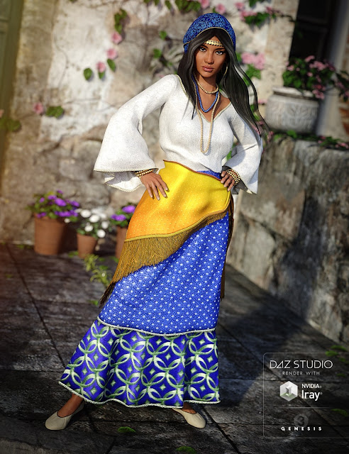Romi for Genesis 3 Female