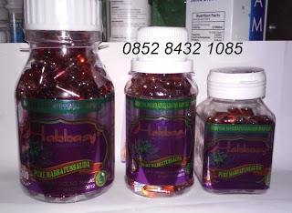 Khasiat habbatussauda jinten hitam habbasyi oil asli kapsul original