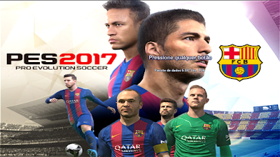 PES 2013 Start Screem PES 2017 BARCELONA By Michel Casillas
