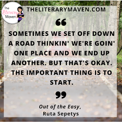 In Out of the Easy by Ruta Sepetys, Josie, the protagonist, is a fierce character. Because her mother thinks only of herself, Josie learns to fend for herself at a very young age. She has a passion for books and education, and is determined to create a better life for herself despite the many obstacles in her way. Read on for more of my review and ideas for classroom application.