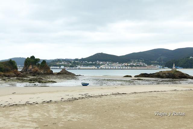 Playa de Covas, Viveiro, Lugo