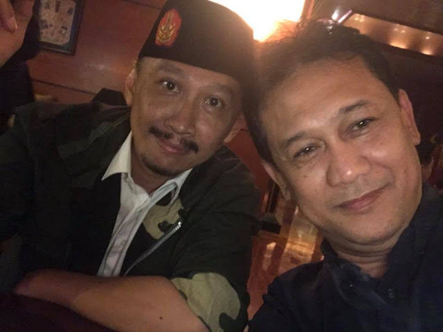 Abu Janda dan Denny Siregar di Pusat Rehabilitasi Intelektualitas
