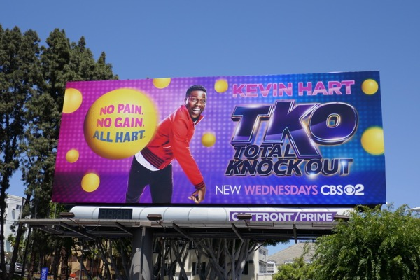 TKO Total Knock Out series premiere billboard