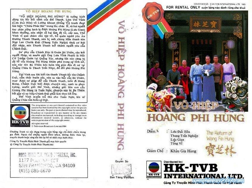http://xemphimhay247.com - Xem phim hay 247 - Võ Hiệp Hoàng Phi Hồng (1984) - The Return Of Wong Fei Hung (1984)