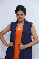 Priyamani in Beautiful Short Deep neck Orange Dress ~  Exclusive 45.JPG
