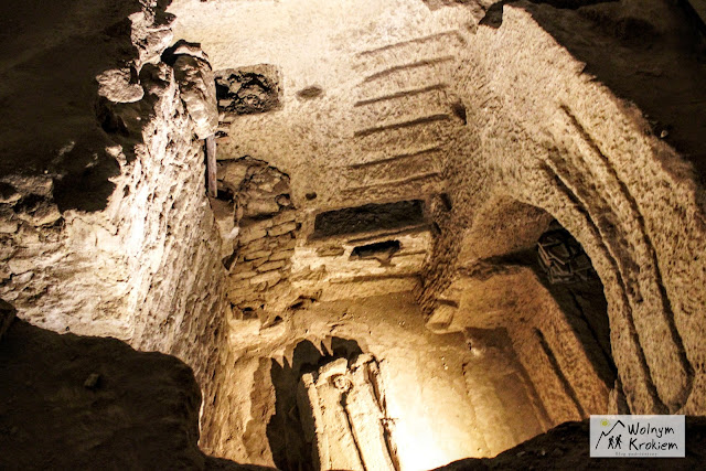 Katakumby San Gennero w Neapolu - pastorał biskupa