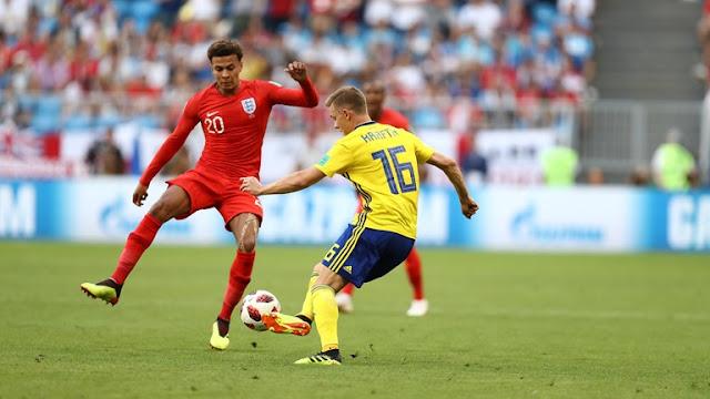ملخص كامل مباراة إنجلترا والسويد اليوم في كأس العالم 2018