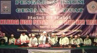 Gelar Halal Bihalal PSHT Ranting Kapas Ajak Anggotanya Amalkan Ajaran Luhur