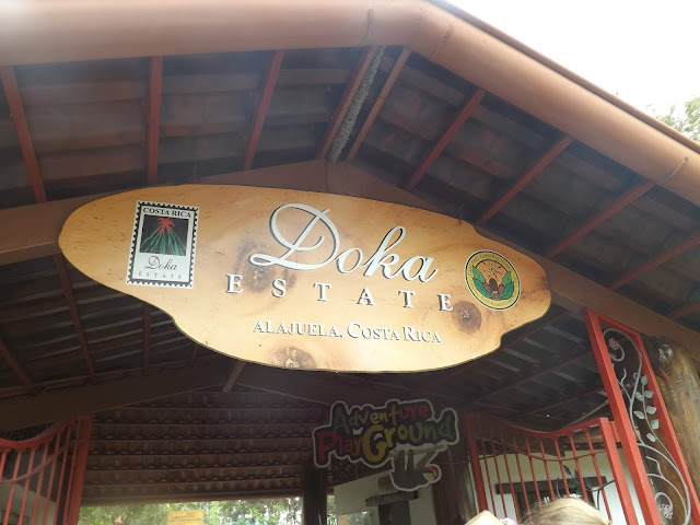 Articole culinare : Costa Rica, Doka Coffee Estate si La Paz Waterfall Gardens