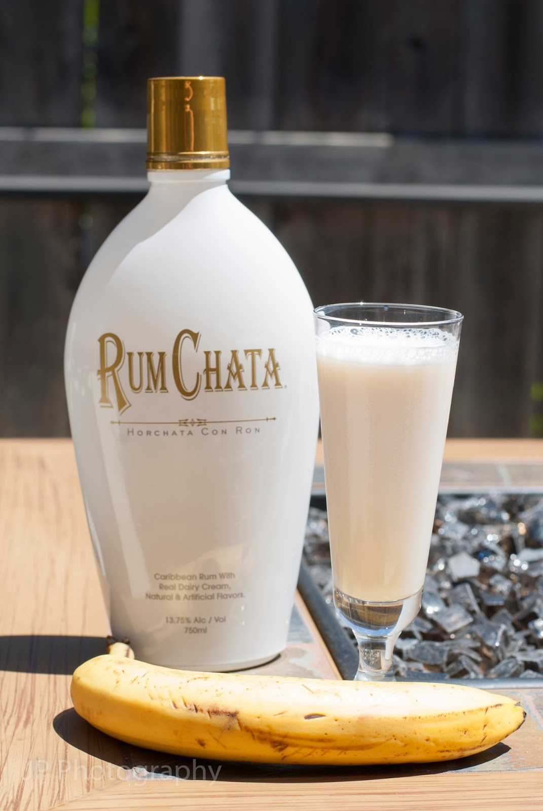 Rum Chata, vanilla vodka, banana liqueur, butterscotch schnapps