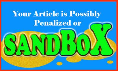 Cara mengatasi google sandbox