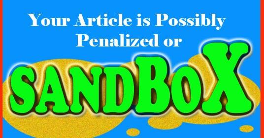 Jeratan Google Sandbox, Akhirnya Lepas Juga!!