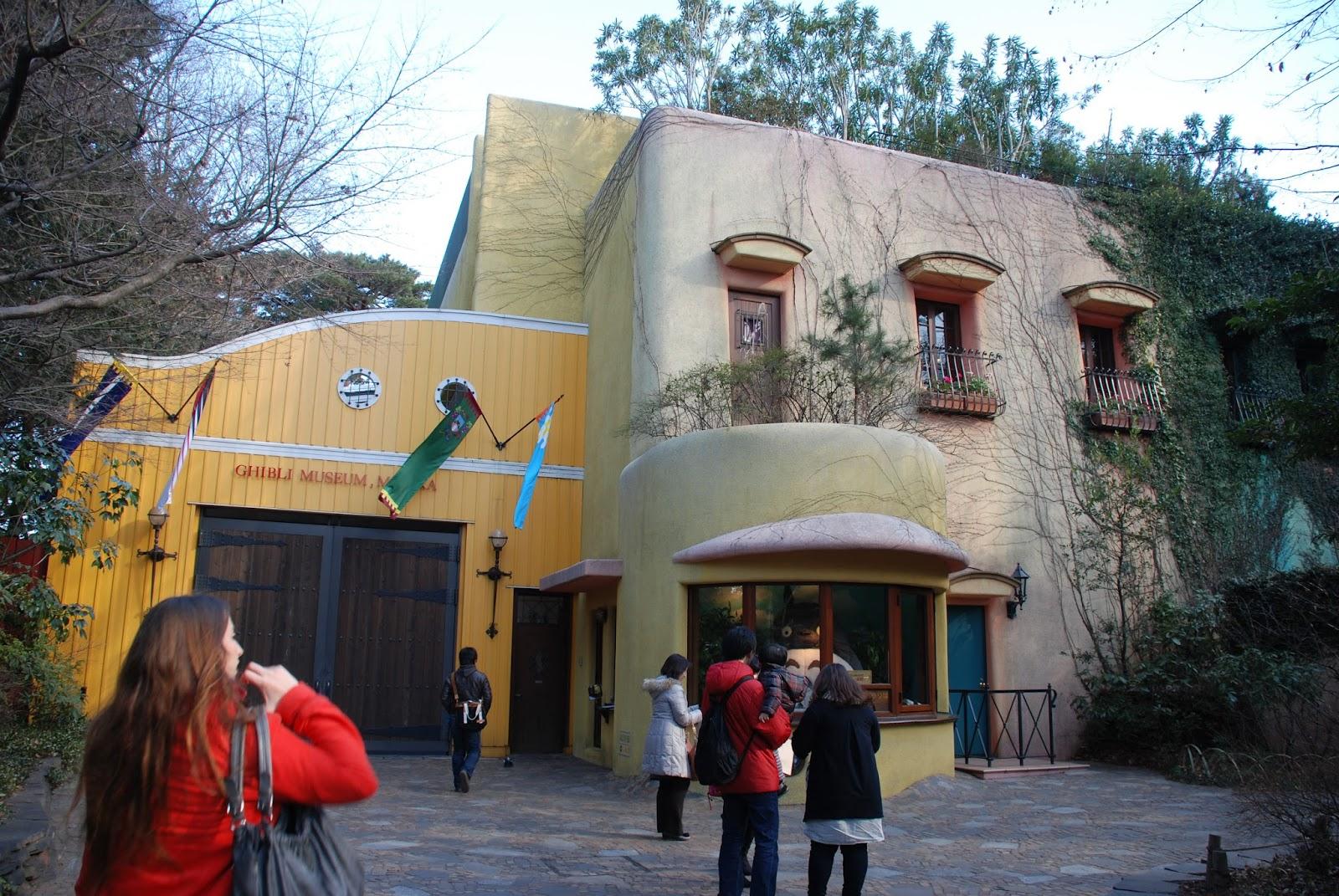Rin in Tokyo: Ghibli Museum