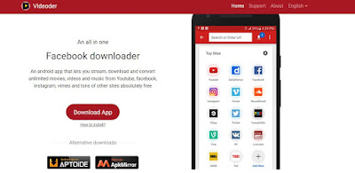 Download Videos from YouTube, Facebook, Twitter, Instagram with Mobile
