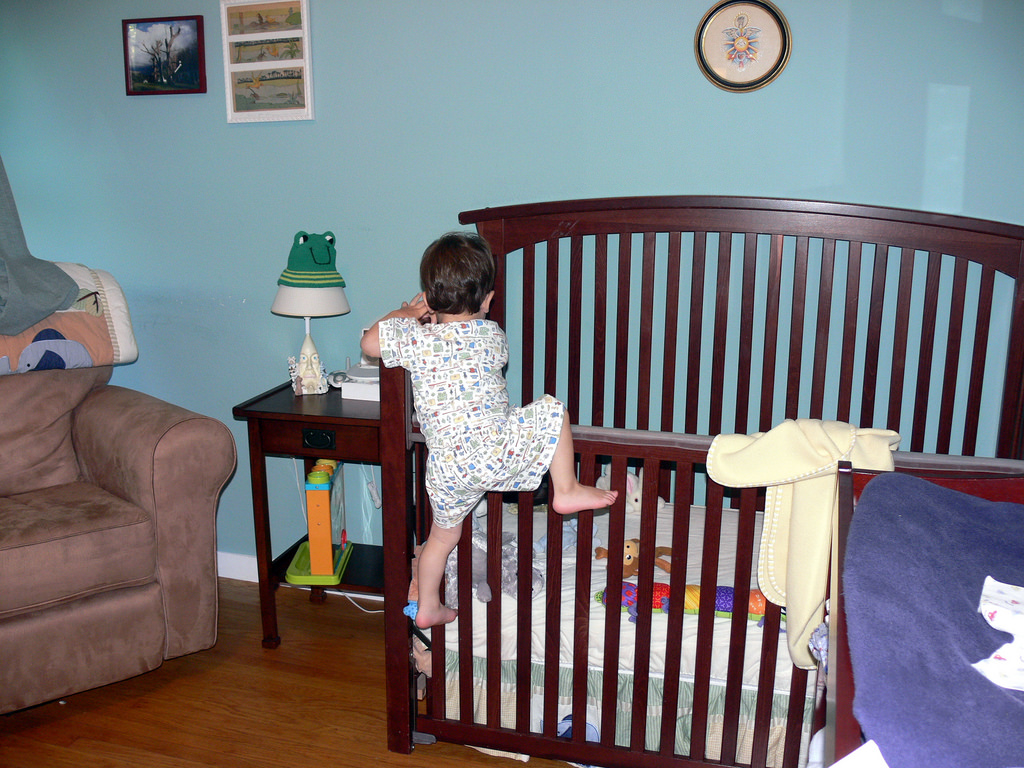 How To Get Baby Used To The Crib Annmarie John