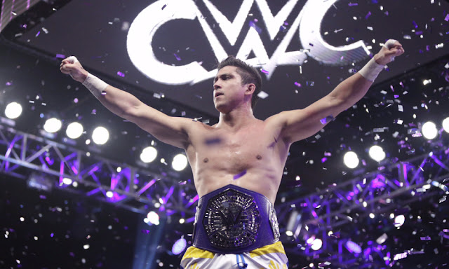 TJ Perkins Cruiserweight Classic Champion Winner