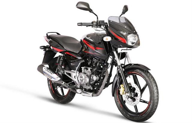 New 2018 Bajaj Pulsar 150cc sport bike