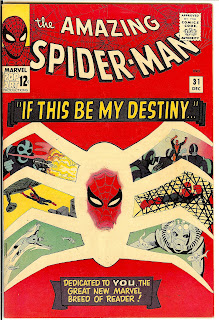 Amazing Spider-Man #31 Cover - 1st appearance of Gwen Stacy & Harry Osbourne