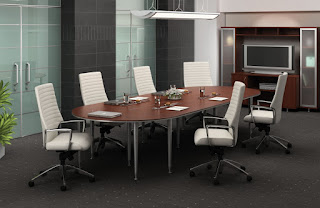 Modular Open Concept Conference Table