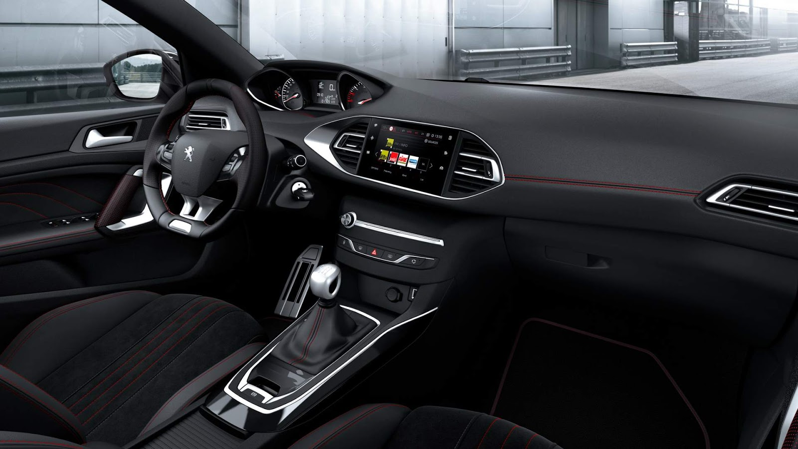 peugeot 308 e 308 gti 2018 fotos e especifica es oficiais car blog br. Black Bedroom Furniture Sets. Home Design Ideas