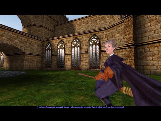 Harry potter y la piedra filosofal - Captura 1