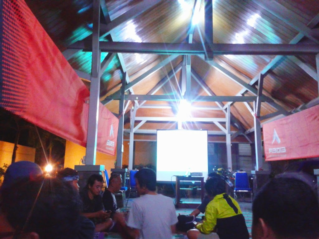 Suasana saat Talkshow Long Distance Cycling