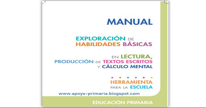 Exploración de habilidades básicas en lectura, producción de textos escritos y cálculo mental en Primaria