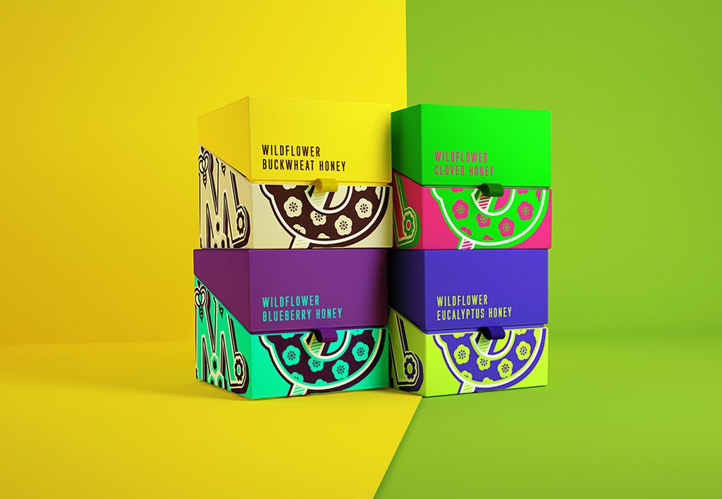 Inspirasi Desain Kemasan Packaging - MEOD – HONEYERIFFIC Honey