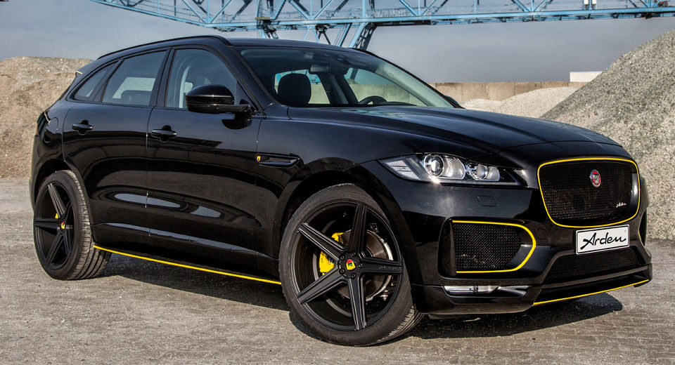 Arden AJ 25 Takes The Jaguar F Pace Even Further