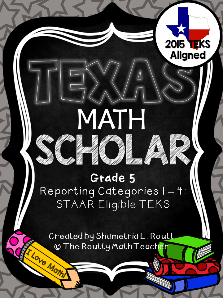 Texas Math Scholar Series- Grade 5