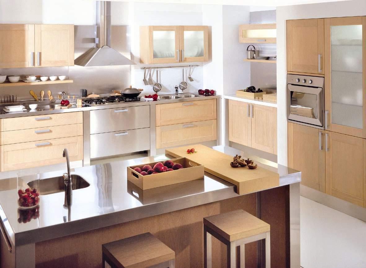 Hogares Frescos: Diseños de Cocinas Estilo Office