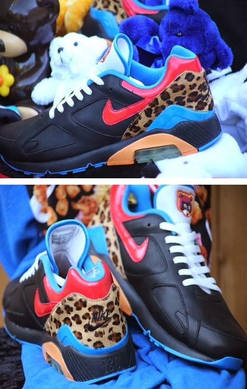 3bd822efee66d Here is new images of a Rare pair of Kanye West x Nike Air 180 Sneaker  Spotted On Ebay rumored to be around 24 pairs ever made! Peep more images  after the ...
