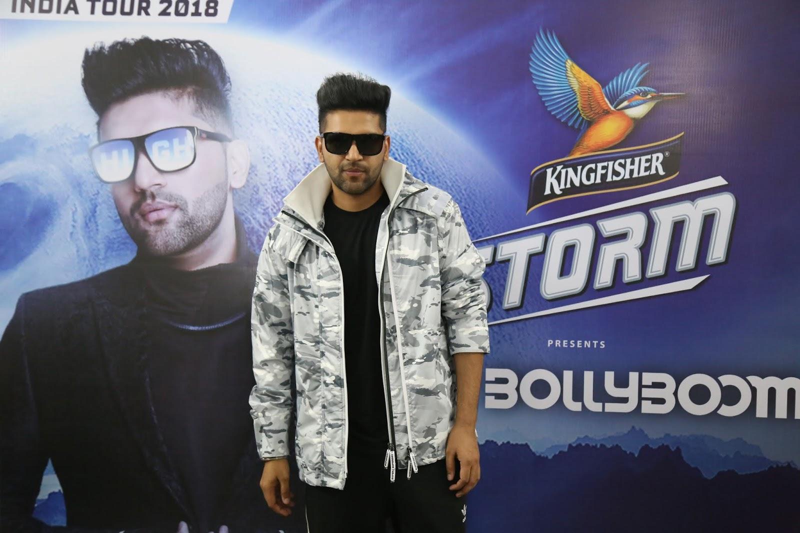 Kingfisher Storm Bollyboom brings Swag Star Guru Randhawa to