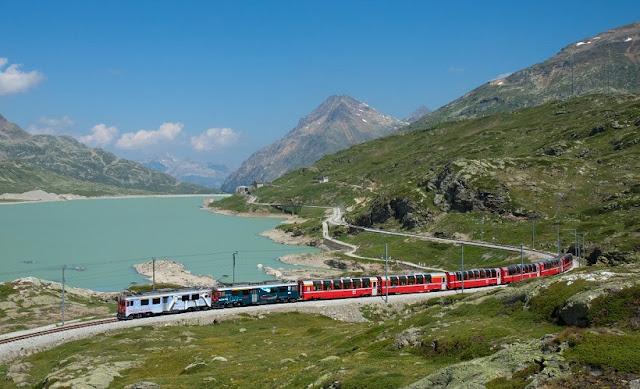Viagem de trem de Milão à Pisa