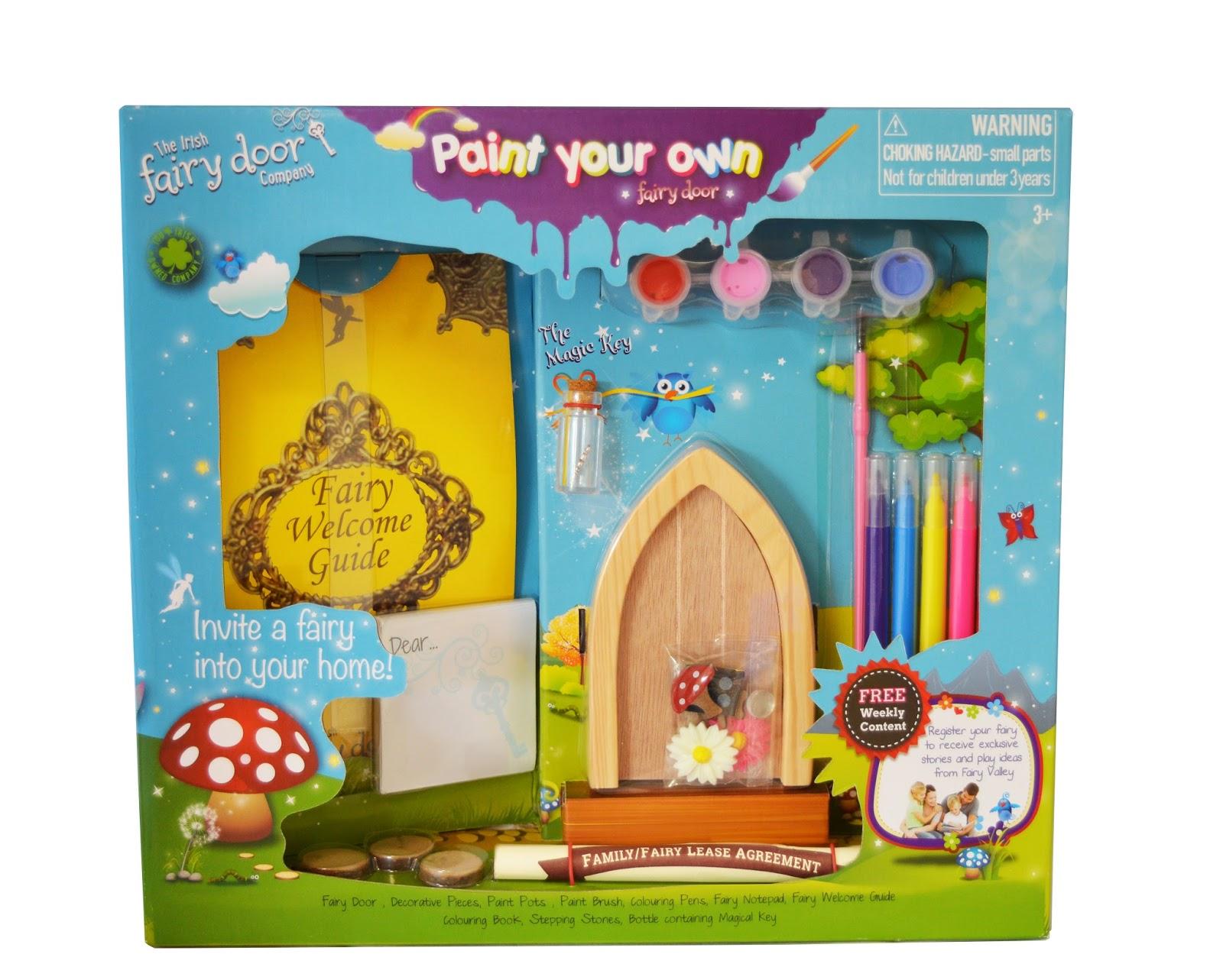 Madhouse family reviews paint your own irish fairy door for Irish fairy door uk