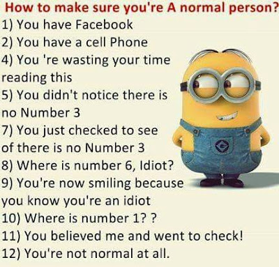 How To See To Make Sure You're A Normal Person?