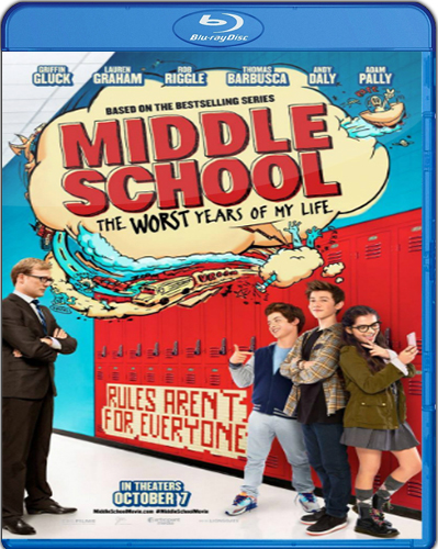 Middle School: The Worst Years of My Life [2016] [BD50] [Latino]