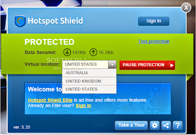 Hotspot Shield 3.20 Free Download