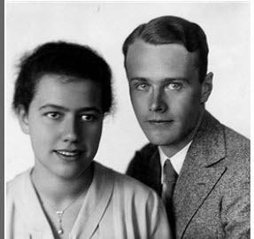 Hans-Bernd von Haeften en Barbara Curtius