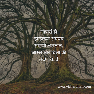 life status in Marathi on relationship