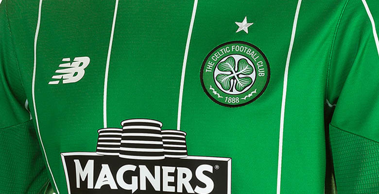 The New Balance Cletic 2015-16 Away Kit is inspired by the green away kits  worn in the 1960s. a8040b7a9