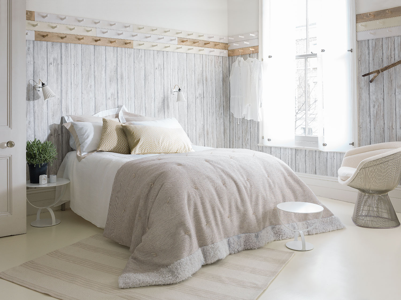 R stico fresco diy nuevo ministry of deco for Dormitorio blanco y madera