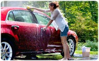 tips mudah mengkilapkan mobil dengan mudah