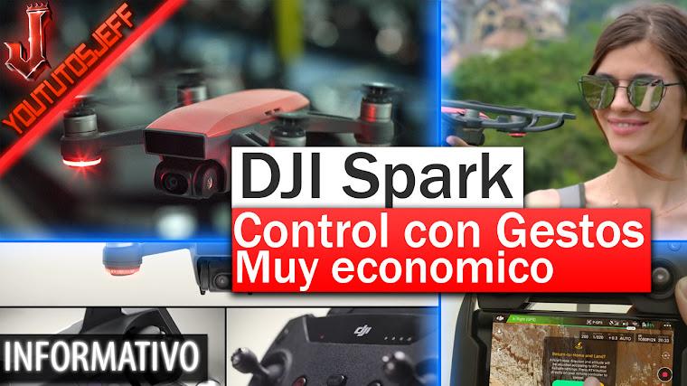 DJI Spark el drone que se controla con gestos y económico
