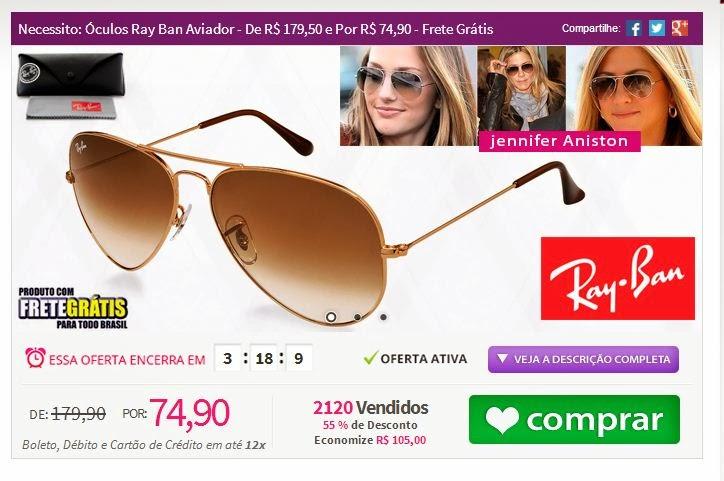 662b1f024 http://www.tpmdeofertas.com.br/Oferta-Necessito-Oculos-Ray-Ban-Aviador---De- R-17950-e-Por-R-7490---Frete-Gratis-528.aspx