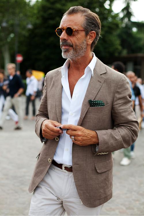 Mature mens fashion