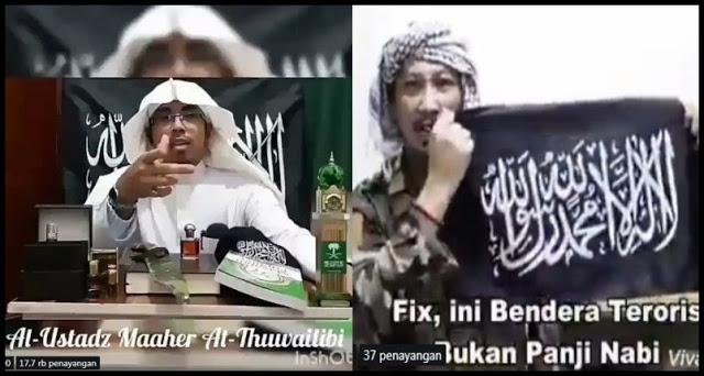 Abu Janda Sebut Bendera Tauhid Sebagai Bendera Teroris, Ustadz Maaher At-Thuwailibi Tantang Mubahalah