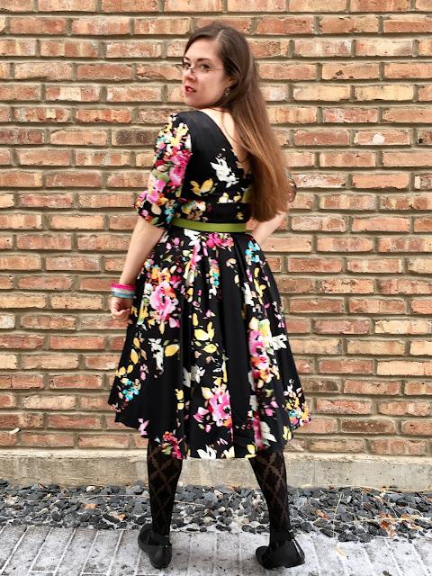 unique vintage pretty dress company hepburn swing